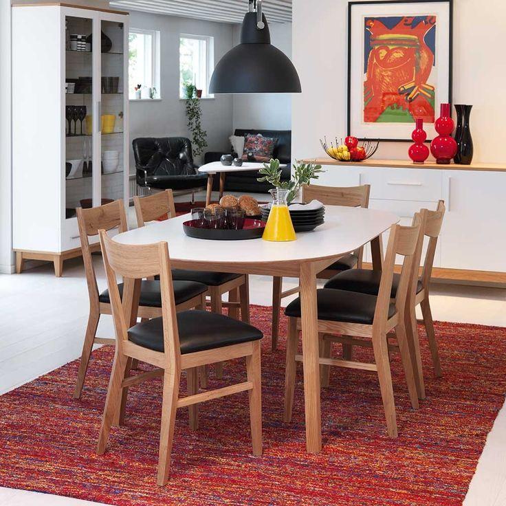 die besten 25 esstisch oval ideen auf pinterest ovale esstische esstisch retro und retro. Black Bedroom Furniture Sets. Home Design Ideas