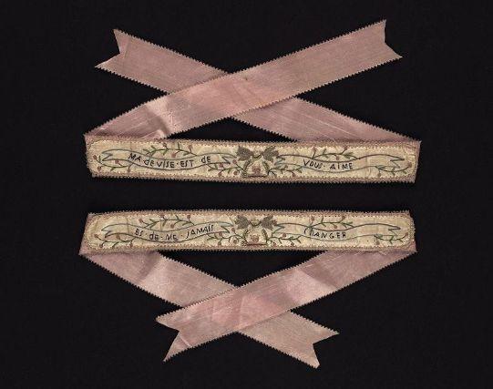garter, French, 18th century