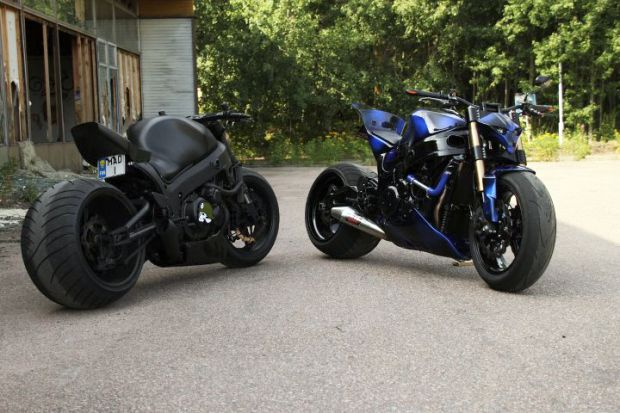 destroyer customs finland | These Might Be The Dopest Custom Street Bikes and Reckless Riders You ... | Destroyer 1, a 2001 Suzuki Hayabusa with a 1441cc 240HP/188NM engine and Destroyer 2, an equally as wild 1999 Suzuki Hayabusa.