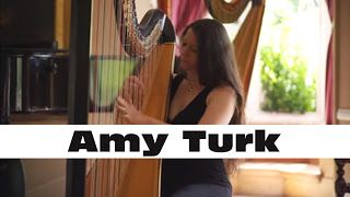 "Amy Turk: Harp - J.S. Bach - ""Air"" from Orchestral Suite No. 3 BWV 1068   Since so many of you have watched my Toccata and Fugue video (THANK YOU) I asked what you'd like me to play next and lots of you said more Bach. So here you go! Often known as Air on the G String this popular piece has been transcribed by me for one harp using the original score for strings. Although it's a bit simpler and slower than something like BWV 565 this was still a great opportunity for me to practice my…"
