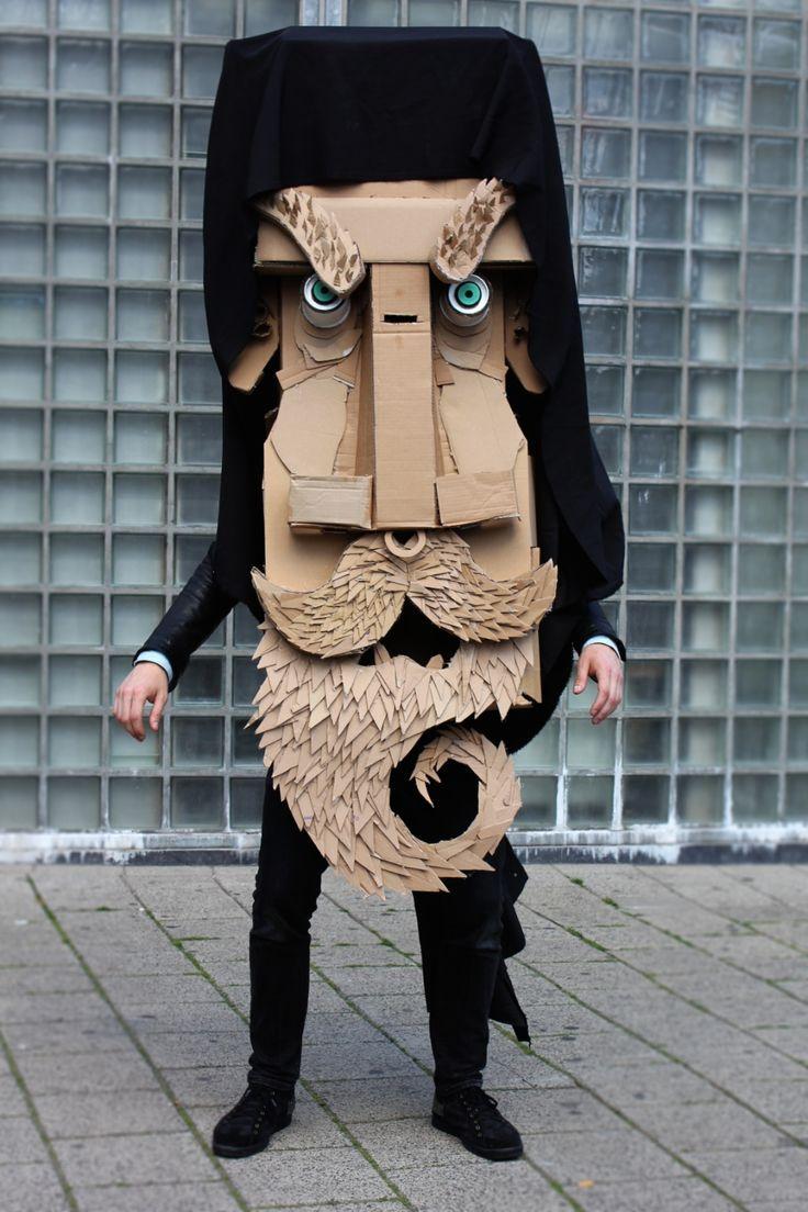 cardboard mask ref: cardboarders.com