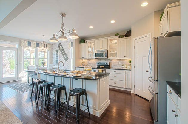 106 best kitchens fischer homes images on pinterest single family corona and crown Kitchen design in alexandria egypt