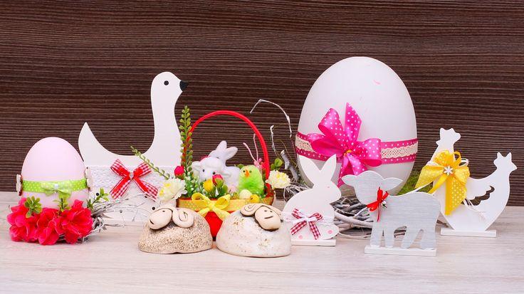 Upominki oraz ozdoby na stół Wielkanocny.