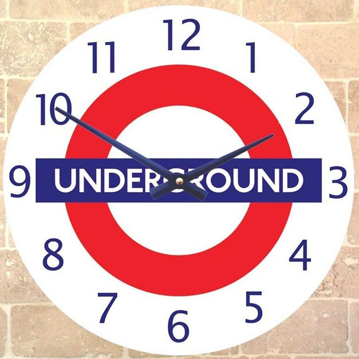 Are you interested in our London Underground Clock? With our Underground wall Clock you need look no further.