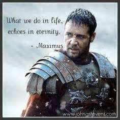 Quotes From the Movie Gladiator - Halloween Movie Quotes - Famous Quotes Ever