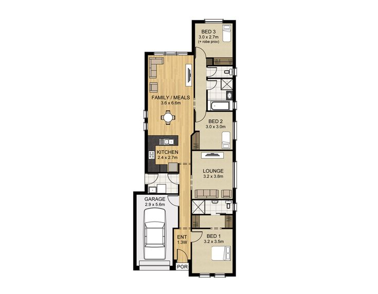 Oakland - Home Designs - Sterlign Homes - Home Builders Adelaide