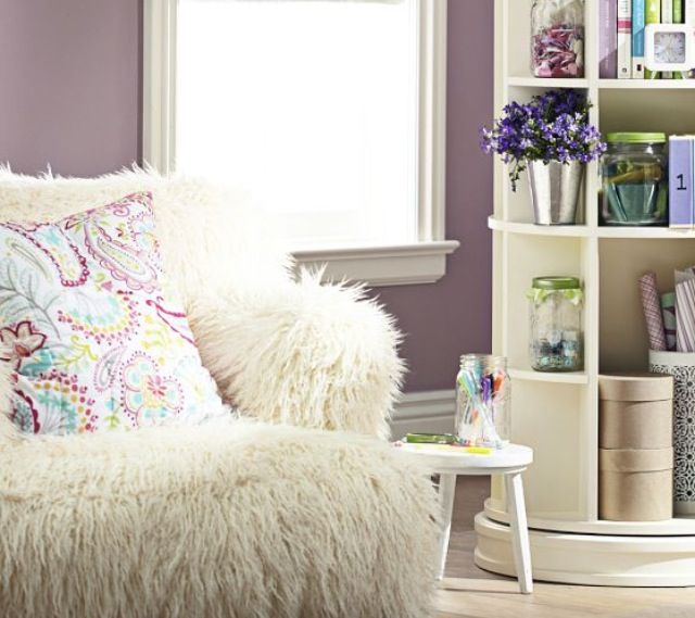 Fluffy Chair From Pottery Barn