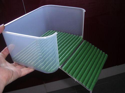Simple DIY basking platform