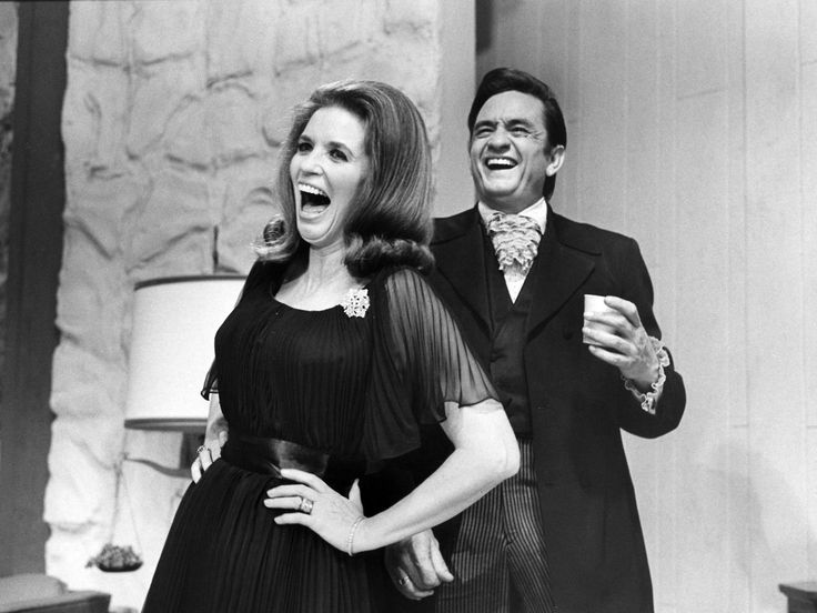 Johnny & June and loads of fun in 1969 @ The Johnny Cash Show.