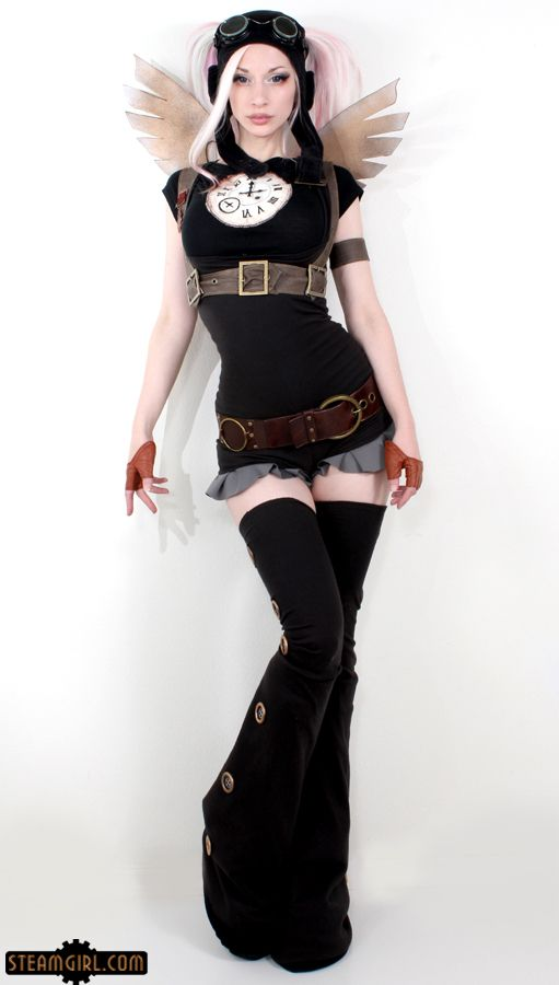 """Those familiar with Kato's Facebook page, which I'm sure is most of you, have seen a photo similar to this on the banner at the very top. Now SteamGirl.com members will get to see the rest of those lovely photos in """"Flutterpunk"""", the latest set to feature Kato, premiering this Saturday on SteamGirl.com!"""