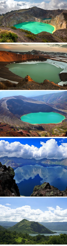 Muhteşem doğal güzellikleriyle 5 krater gölü