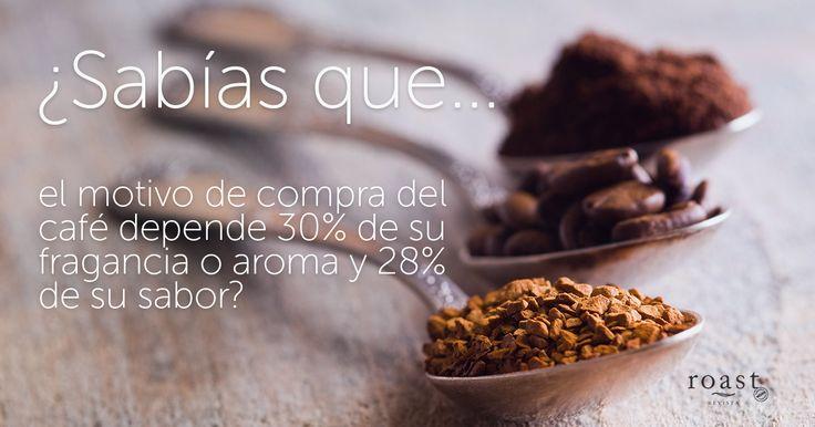 ¿Sabías que… el motivo de compra del café depende 30% de sus fragancia o ar…