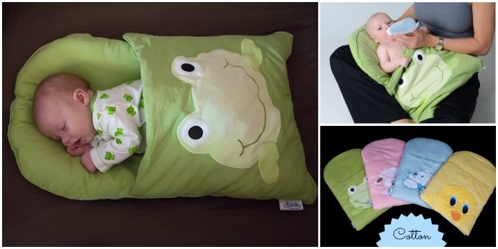DIY Baby Pillowcase Sleeping Bag Patterns and Tutorial (Video) #Crafts, #Sew, #Gifts