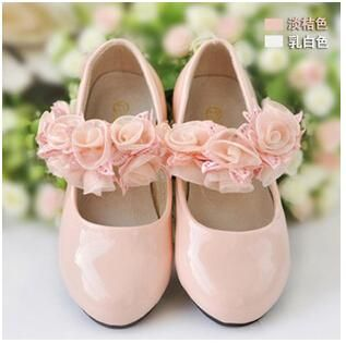 Baby Girl'S Princess Shoes Hot Sales Kids Children'S Dress Shoes Pu Leather Preppy Style Girls Fashion Flowers Shoes Wedding Shoes Kids Boots Leather Black Leather Shoes For Kids From Jacky8899, $28.28  Dhgate.Com