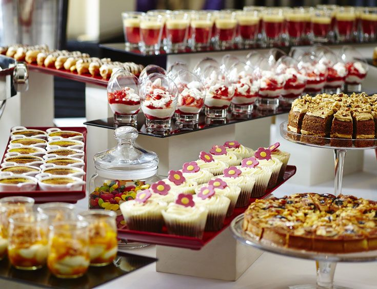 Brunc dessert buffet, One Aldwych Hotel London