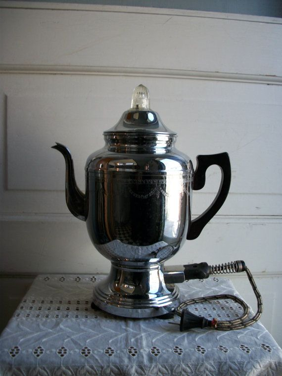 1930s Farberware Coffee Maker. Had one exactly like it, Went back to get it and ex hubby said ...