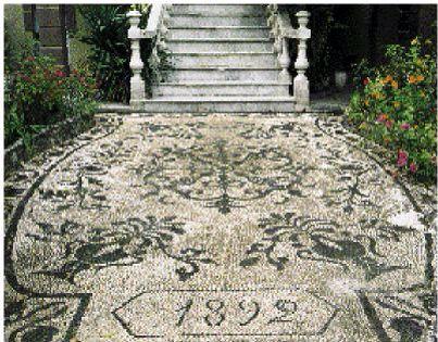 Greek pebble mosaic