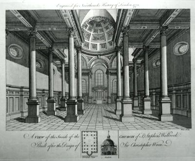 St Stephen Walbrook (view of the inside)