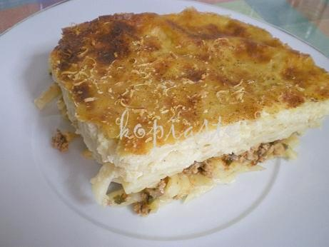 Makaronia tou Fournou or Pastitsio (Cyprus style) This is very a popular dish in Cyprus.