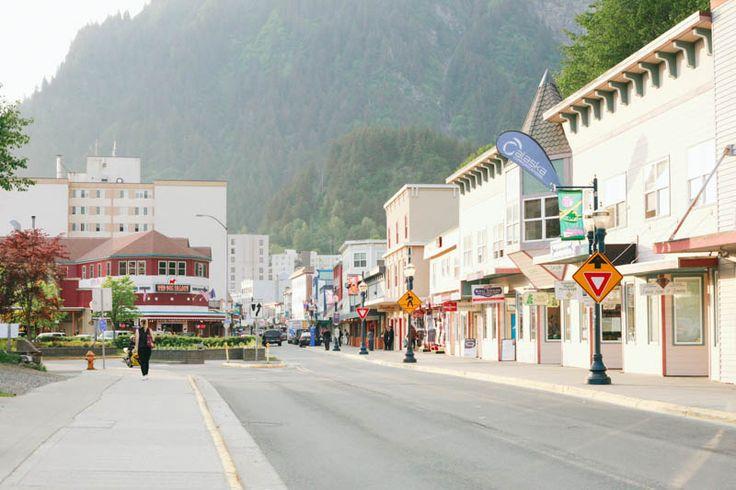 Places to Visit in Juneau, Alaska ↠ Downtown Juneau.