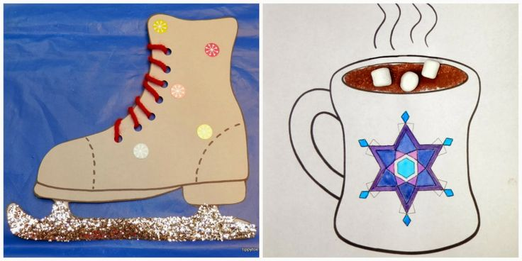 Tippytoe Crafts: Ice Skates and a Cup o' Cocoa