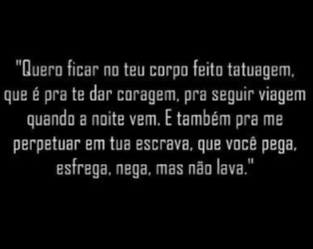 *** Tatuagem. | Chico Buarque
