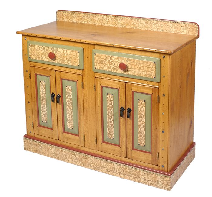 4ft Credenza Server By David Marsh | Furniture, Home Decorative Accents