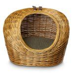 Snoozer Luxury Wicker Cat Basket & Bed - Small - Cat Beds at Hayneedle