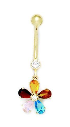 Jewish Star Belly Button Rings