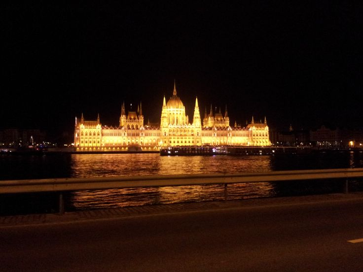 The Parliament at night- Budapest