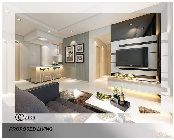 Hdb Bto Elegant Contemporary At Blk 663a Punggol Drive Interior Design Pinterest Singapore