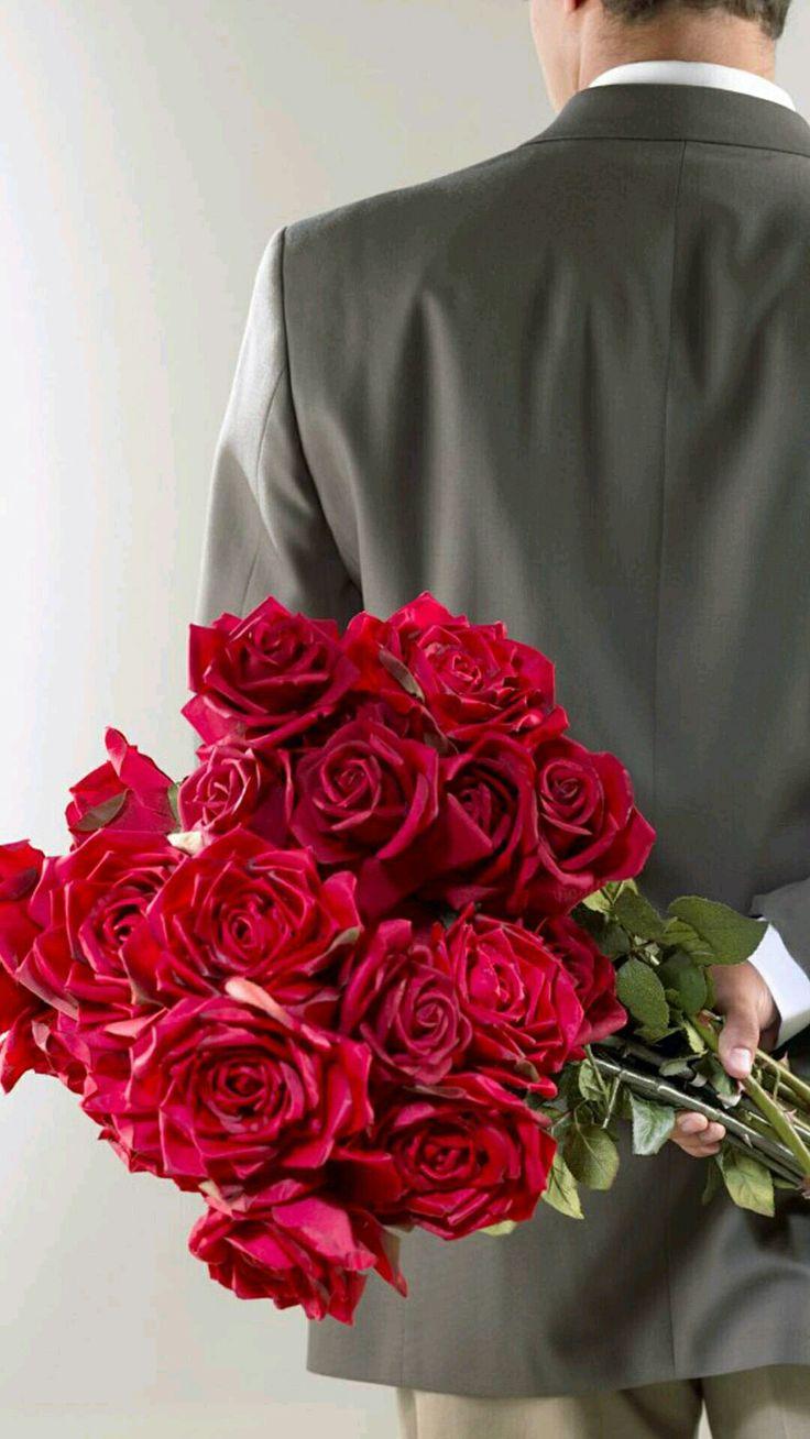 Одинцово доставка, во сне мужчина подарил букет красных роз