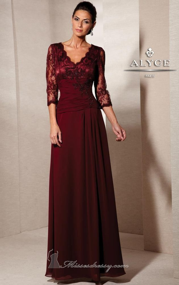 Mother of the Bride | Jean de Lys Dress Style #29718 | Fall 2014 ...