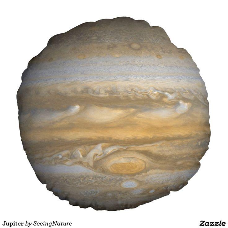 Jupiter Round Pillow