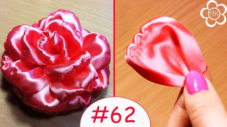 Лепесток Розы Канзаши / Все лепестки канзаши #62