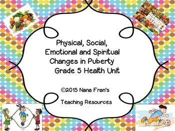 spiritual changes in puberty Helping your child through early adolescence is a booklet based on the latest research in adolescent development and learning, and addresses questions physical changes as they enter puberty, young teens undergo a great many physical changes.