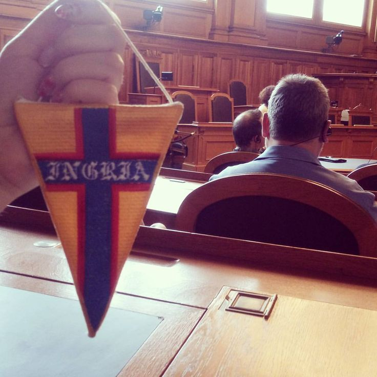 """This post is for those who are in the subject and understand the subtle symbolism. Pennant football club """"Ingria"""" has found its place in the Swiss Parliament) #schweiz #bern # Bern Switzerland # # # Ingria fkingriya #ingria"""