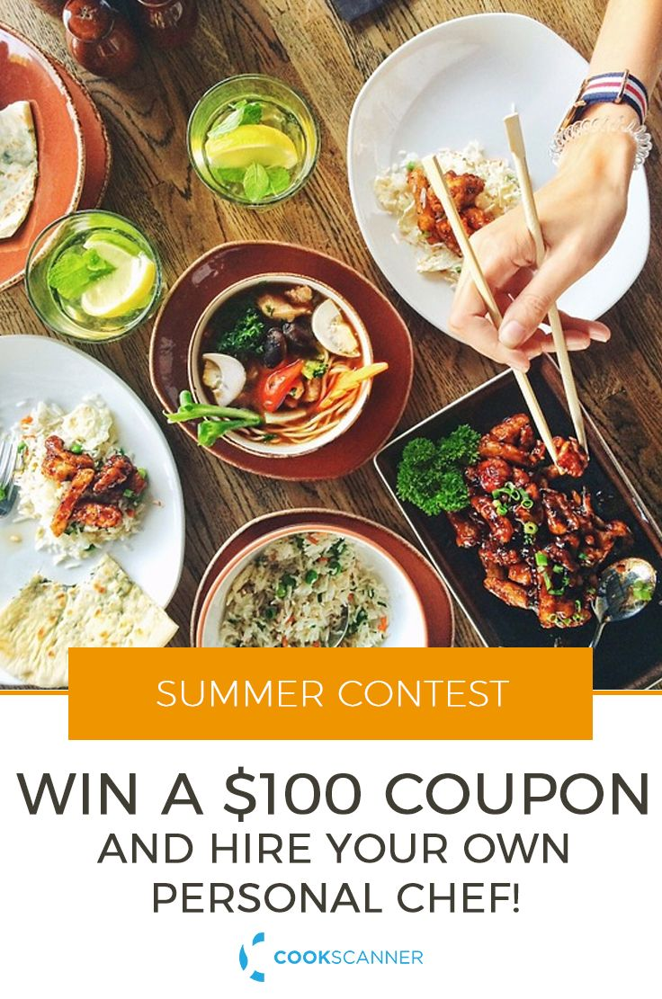 If you are a New York based foodie and want to try a fabulous personal chef experience, drop us a line and we'll send you a $100 coupon.CookScanner is also running a free contest via itsFacebook page. Participation is simple, and everyone has a chance to win a $100 coupon towards booking a chef.