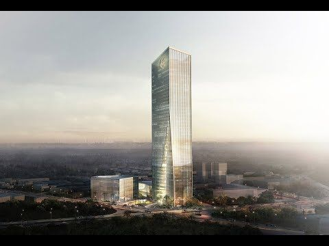 The new building Commercial Bank of Ethiopia  The tallest building in East Africa