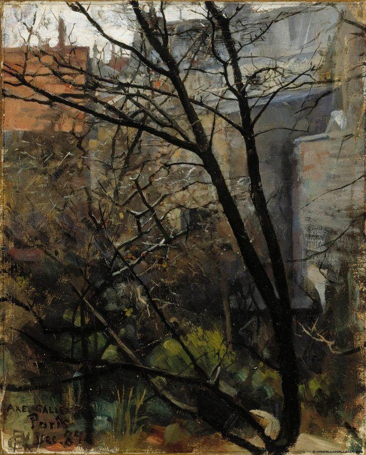 Pariisilainen takapiha, 1884