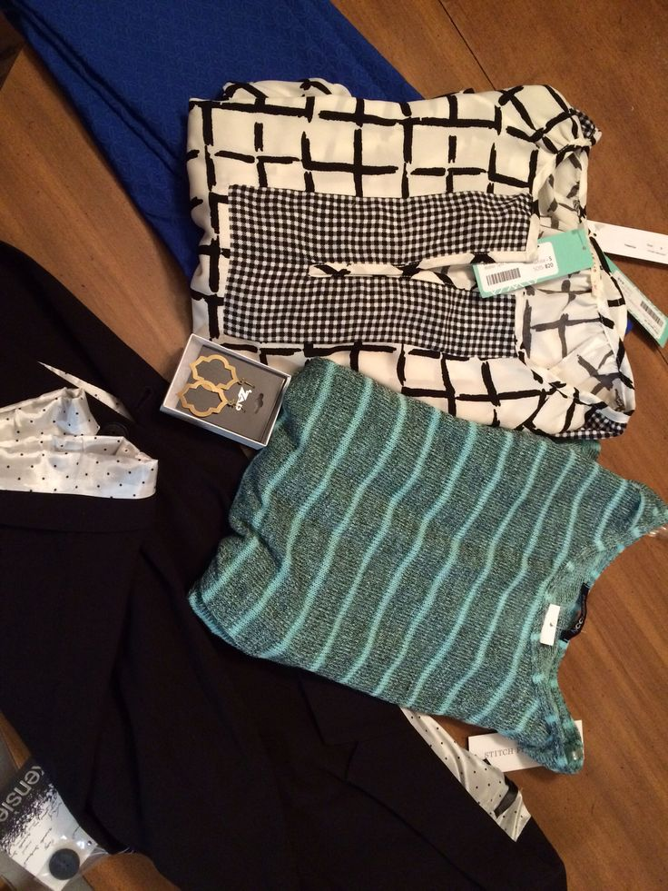 My first Stitch Fix was so cute! My stylist nailed me on style preference.