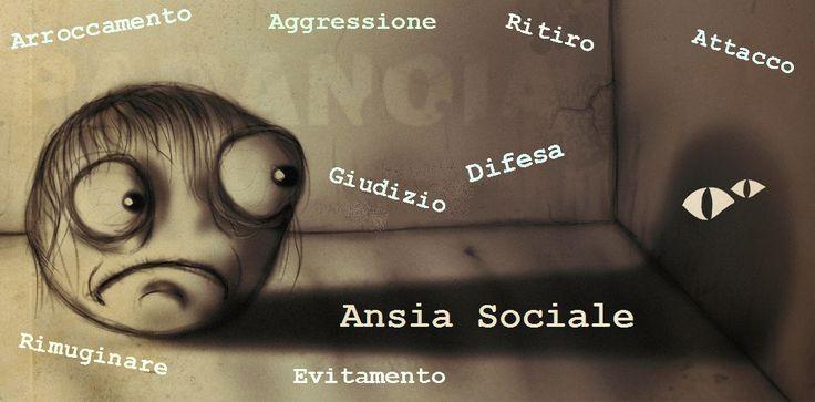 ansia sociale e paranoia