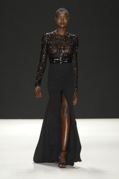 Beautiful Black Models at New York Fashion Week