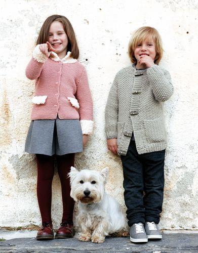 Book Kids 75 Autumn / Winter | 5: Kids Jacket | Light pink / Off-white