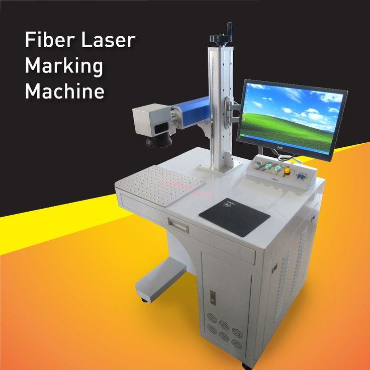 Long life 50watt Fiber Laser Engraving Machine For sale,Fiber Laser Marking System For Big area or Deep Metal Parts Marking
