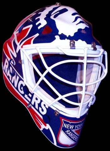 mike richter vintage goalie masks