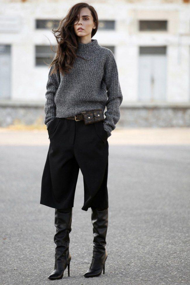 Come abbinare i pantaloni culotte