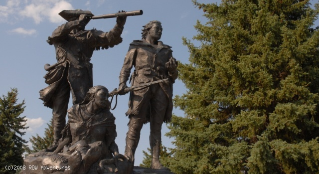 a history of the expedition of lewis and clark in the american west The bilingual shoshone woman sacagawea (c 1788 – 1812) accompanied the lewis and clark corps of discovery expedition in 1805-06 from the northern plains.