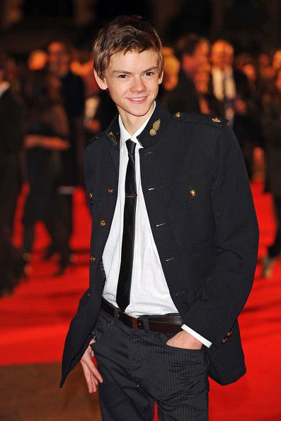 .:THOMAS BRODIE-SANGSTER | Nowhere Boy Premiere at London Film Festival
