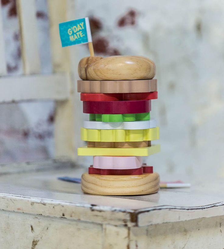 iconic toy stacking - burger – makemeiconic